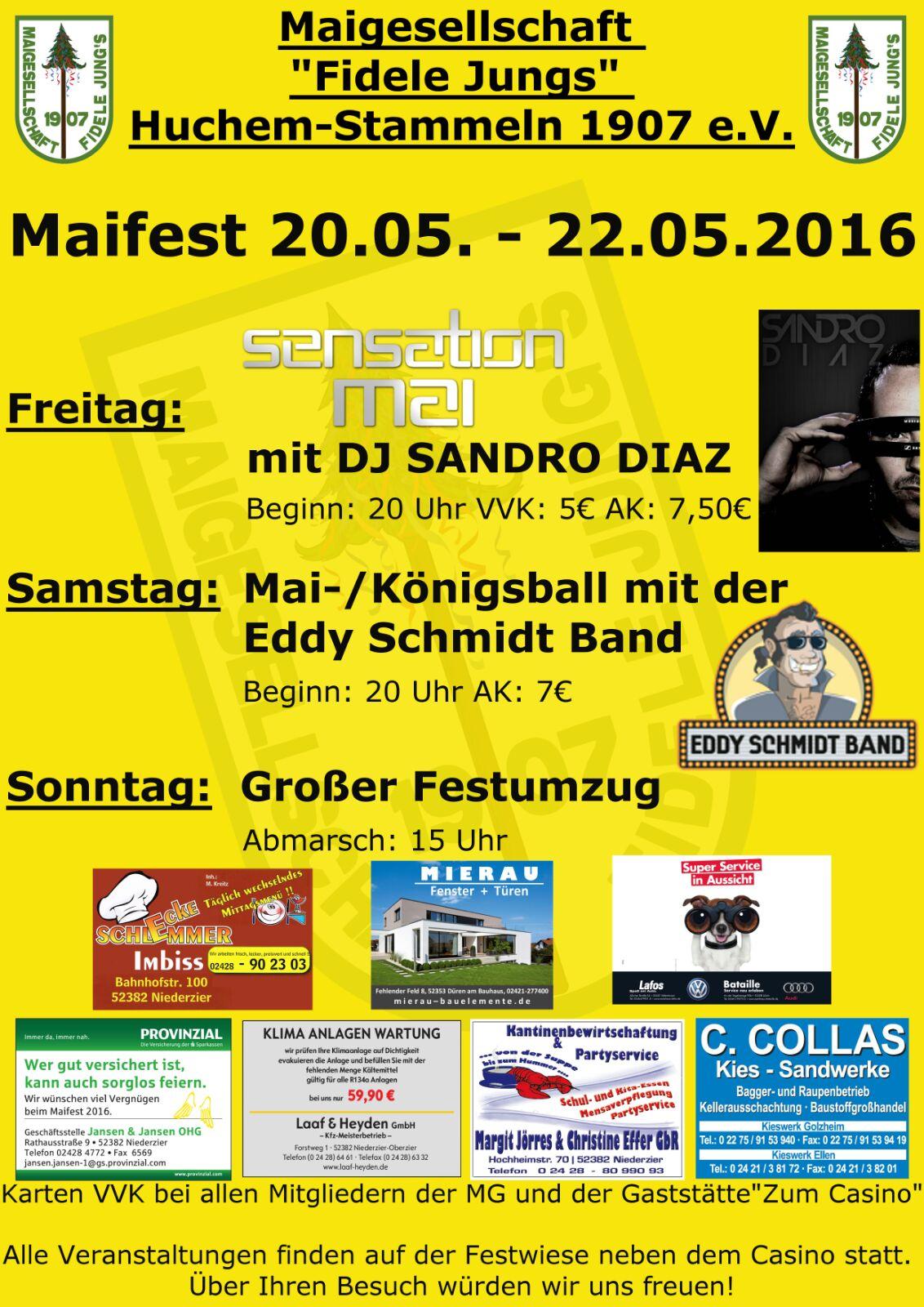 Plakat Maifest 2016